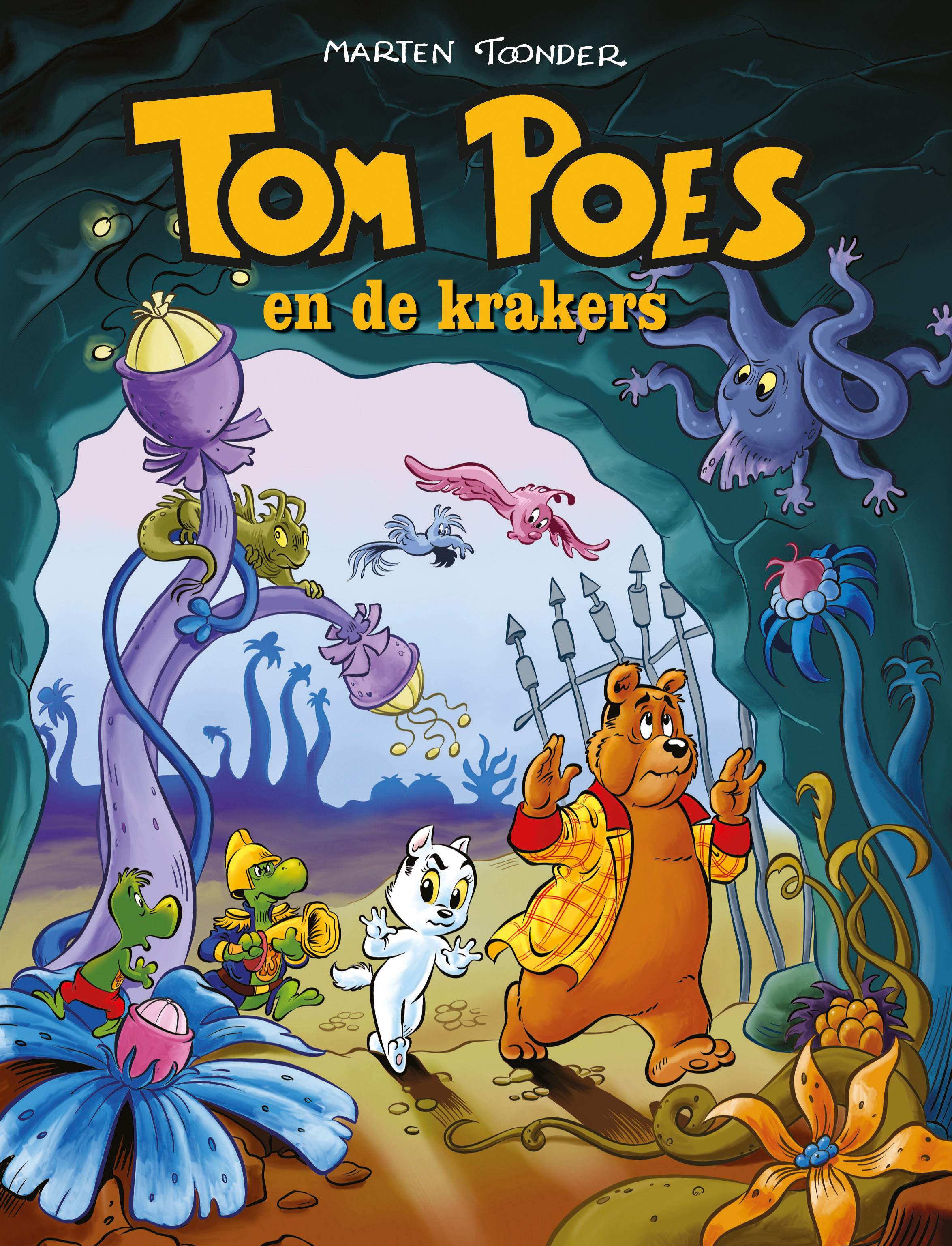 Tom Poes en de Krakers Voorplaat